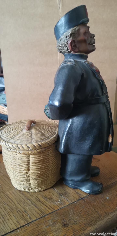 Arte: Antigua terracotta de olot firmado Buxo hermanos visera rota - Foto 4 - 153227574