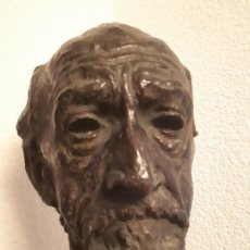 Arte: FRANCIS WILLIAM DOYLE-JONES: BUSTO HOMBRE EN BRONCE, BRONZE BUST FOR SALE. EN VENTA.. Lote 153961014