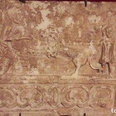 Arte: ESCULTURA RELIEVE MARMOL CON ESCENA CIRCENSE DE GLADIADOR ROMANO ( NO ES ARQUEOLOGÍA). Lote 154714870