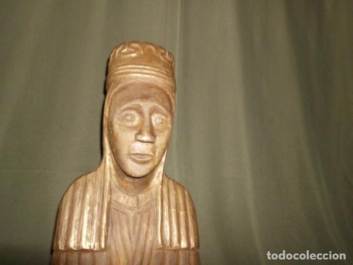 """Arte: Talla de madera por detrás dedicado """" Un Record de loncle Andreu 1974 """" - Foto 2 - 154830690"""