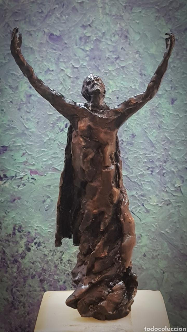 HAMILTON REED ARMSTRONG, PRECIOSA ESCULTURA BRONCE, SIN FIRMA. (Arte - Escultura - Bronce)