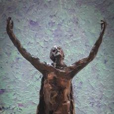 Arte: HAMILTON REED ARMSTRONG, PRECIOSA ESCULTURA BRONCE, SIN FIRMA.. Lote 155003550