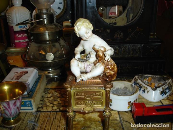 Arte: excepcional figurita en porcelana de sevres epoca imperio ver fotos de coleccion - Foto 2 - 155518746