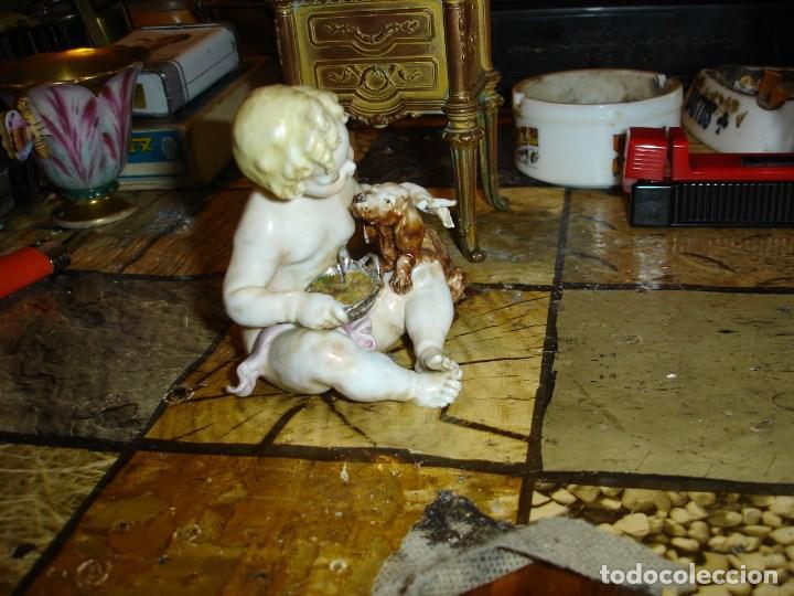Arte: excepcional figurita en porcelana de sevres epoca imperio ver fotos de coleccion - Foto 5 - 155518746