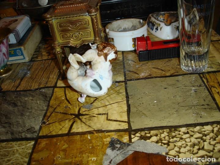 Arte: excepcional figurita en porcelana de sevres epoca imperio ver fotos de coleccion - Foto 6 - 155518746