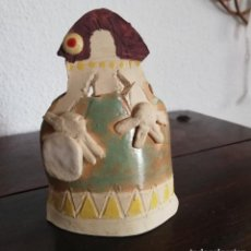 Arte: MENINA DE BARRO O TERRACOTA . Lote 155715094