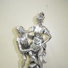 Arte: ANTIGUA ESCULTURA DE BRONCE MITOLOGÍA GRIEGA. Lote 156175270