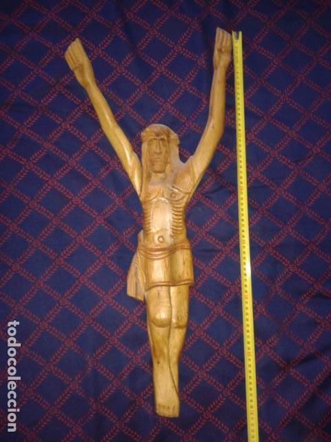 CRISTO TALLADO EN MADERA (Arte - Escultura - Madera)