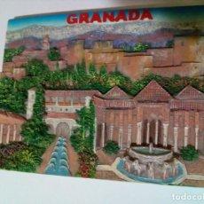 Arte: GRANADA-RESINA CON RELIEVE. Lote 158545698