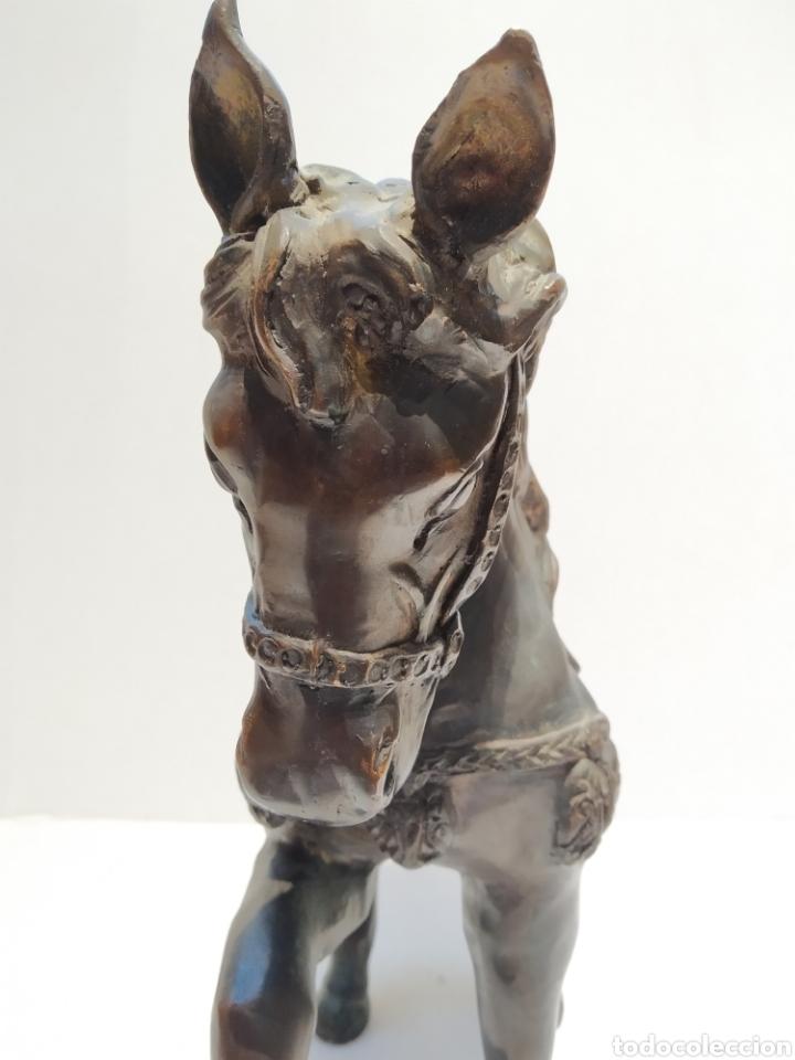 Arte: Antigua escultura - Caballo al paso realizada en bronce. Pierre Jules Mène (París 1810-1879) Firmada - Foto 7 - 158842306