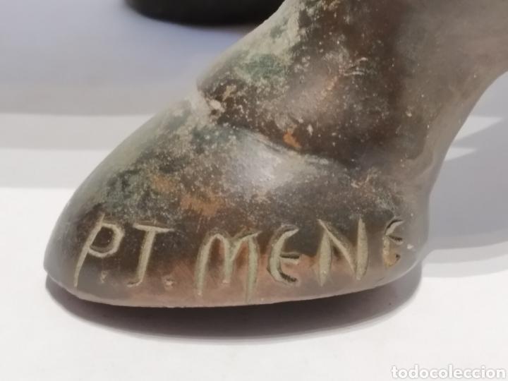 Arte: Antigua escultura - Caballo al paso realizada en bronce. Pierre Jules Mène (París 1810-1879) Firmada - Foto 3 - 158842306