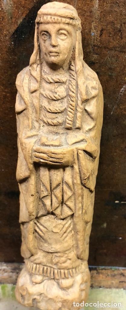 Arte: Figura de terracota antigua muy rara medidas 14x4 - Foto 2 - 159048158