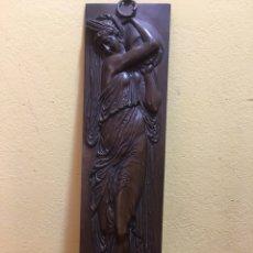 Arte: FERNIDAND BARBEDIENNE. 1810-1892. BRONCISTA FRANCÉS. ESCULTURA BRONCE. MOTIVO MITOLÓGICO. FIRMADO.. Lote 159216892
