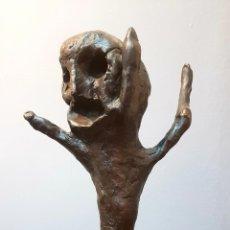 Arte: SCHABELSKY, INTERESANTE ESCULTURA BRONCE FIRMADA.. Lote 148671094