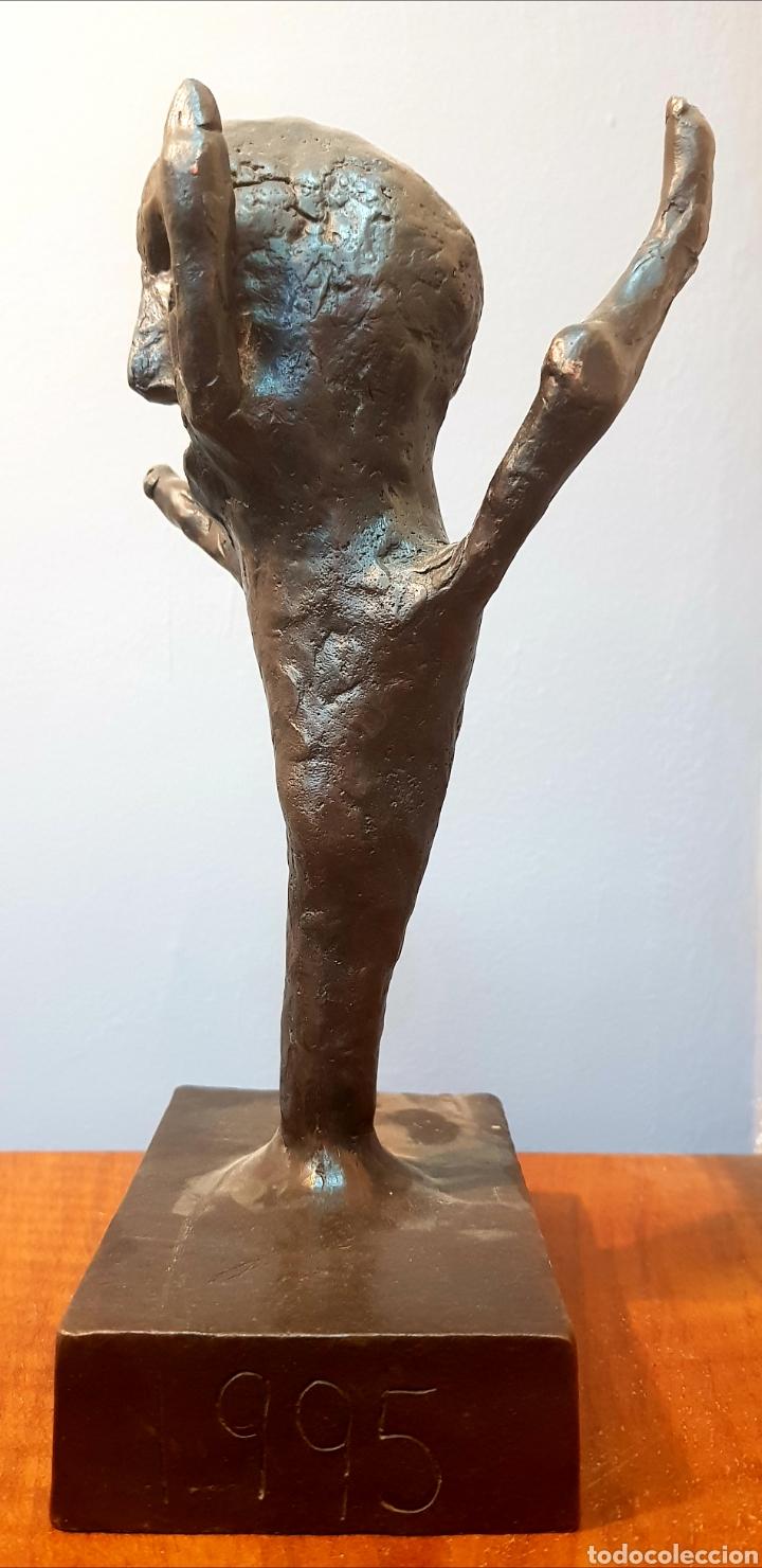 Arte: Schabelsky, interesante escultura bronce firmada. - Foto 3 - 148671094