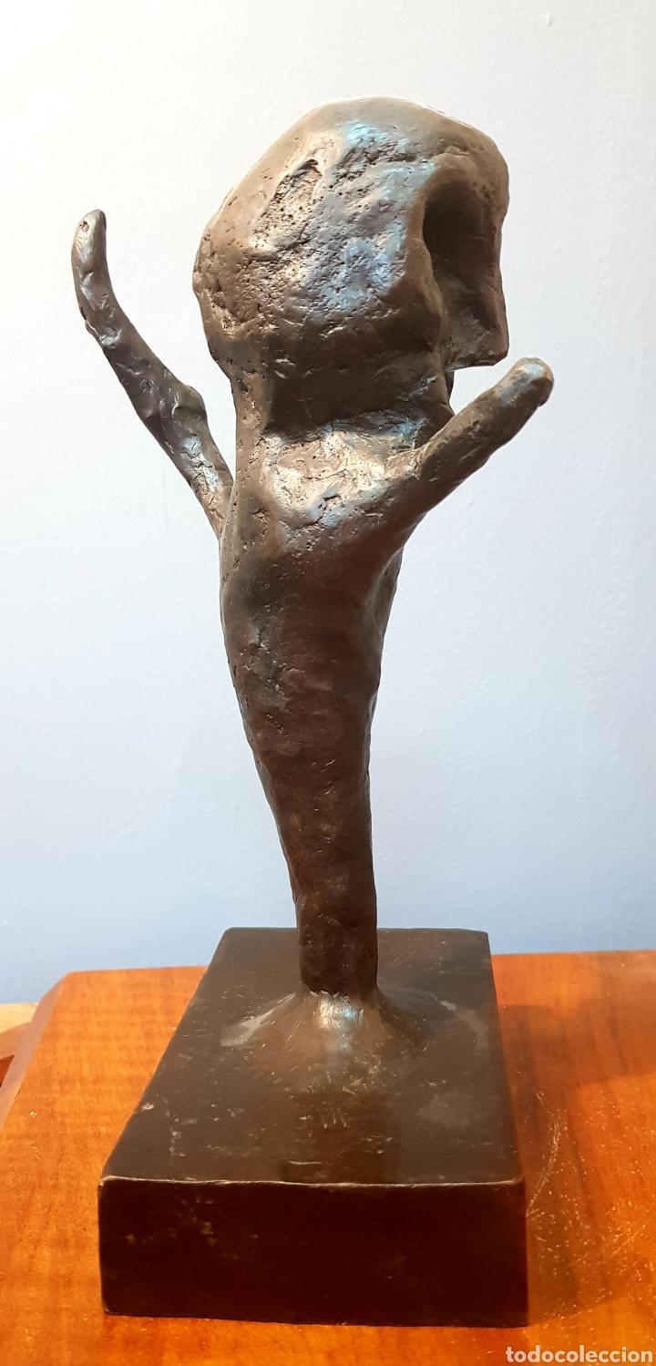 Arte: Schabelsky, interesante escultura bronce firmada. - Foto 6 - 148671094