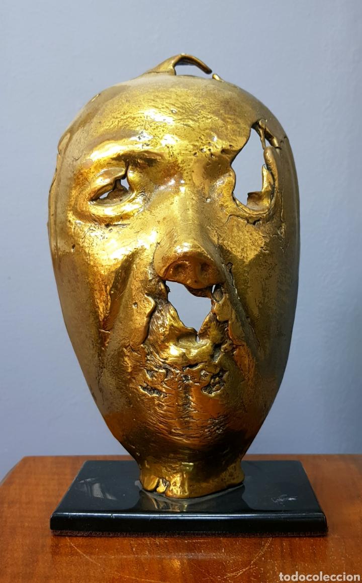 Arte: Magnifica escultura en bronce sin firmar. - Foto 2 - 159468806