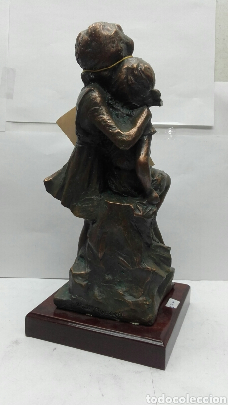 Arte: Escultura figura unica obra de arte de hermanas de Pau Marcell - 94/300 - Foto 5 - 159481044
