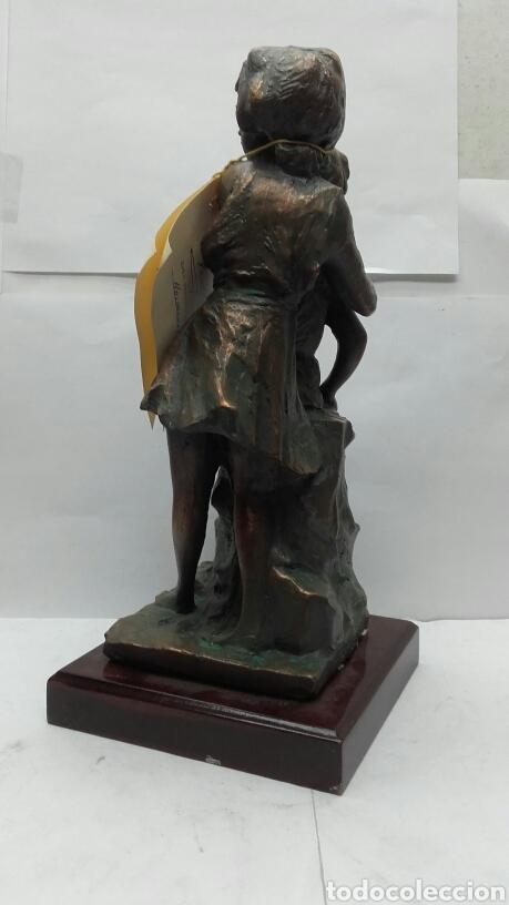 Arte: Escultura figura unica obra de arte de hermanas de Pau Marcell - 94/300 - Foto 6 - 159481044