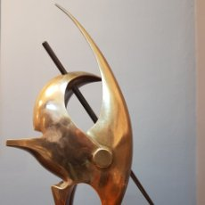 Arte: MANUEL ÁLVAREZ LOSADA, MAGNIFICA ESCULTURA ORIGINAL DE BRONCE, FIRMADA.. Lote 159579525