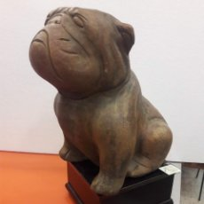 Art - VENDIDO- Pareja de perros en piedra - escultura- Italia - 159685830