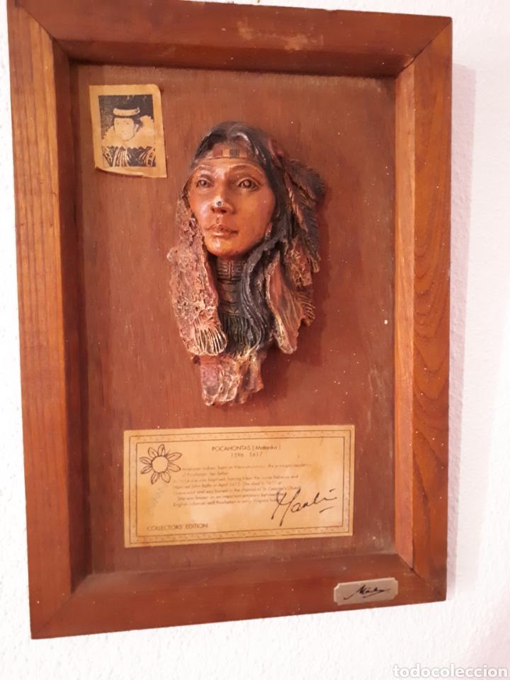 ESCULTURA POCAHONTAS(MATOAKA) DE MARKA GALLERY (Arte - Escultura - Resina)