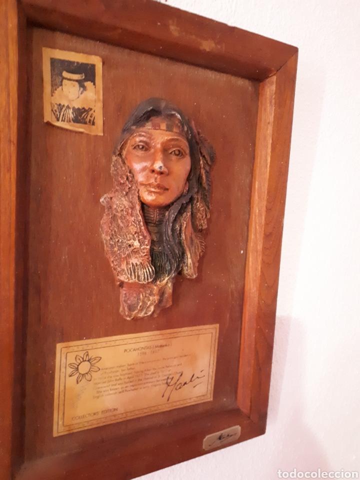 Arte: Escultura pocahontas(matoaka) de marka gallery - Foto 4 - 159848782