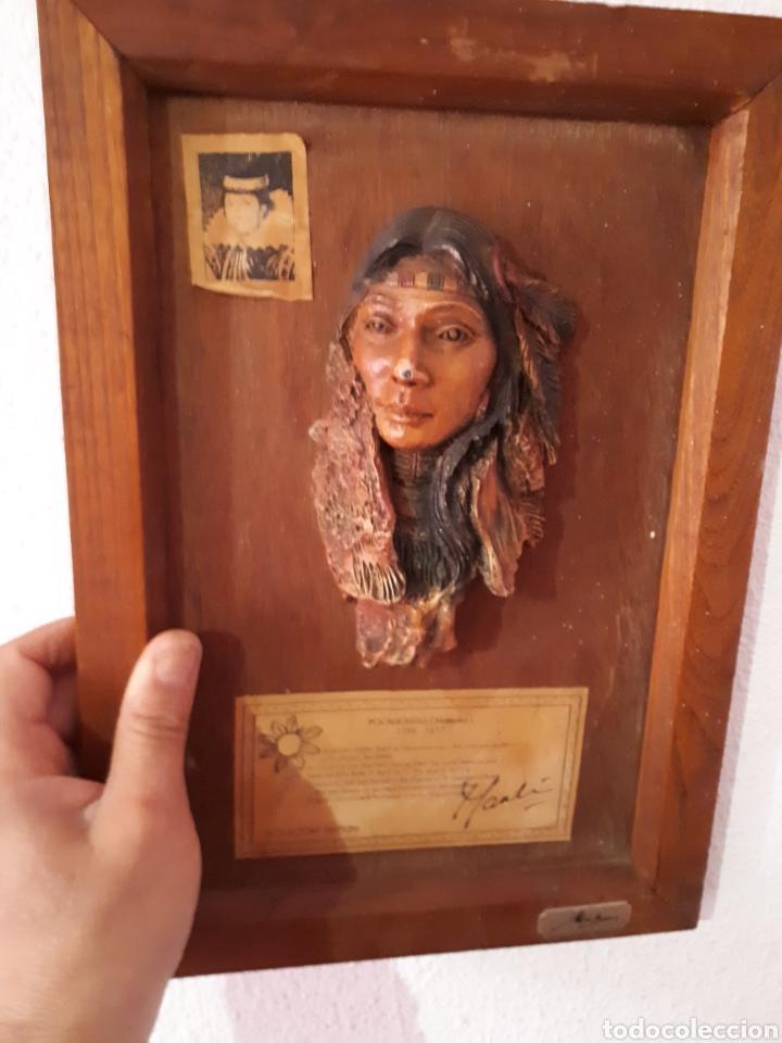 Arte: Escultura pocahontas(matoaka) de marka gallery - Foto 6 - 159848782