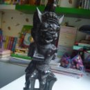 Arte: DRAGÓN CEREMONIAL HINDÚ BALI PRECIOSA TALLA INDONESIA PIEZA ÚNICA. Lote 160182918