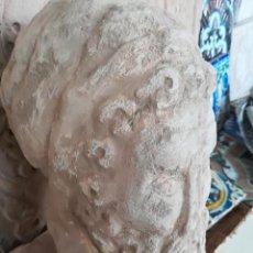Art - Cabeza en piedra tallada reproduccion - 160356898