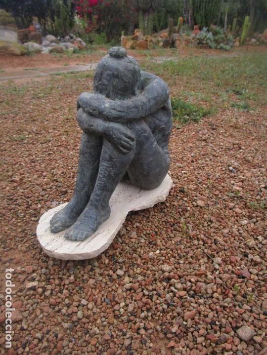 Arte: escultura piedra - Foto 4 - 160660122