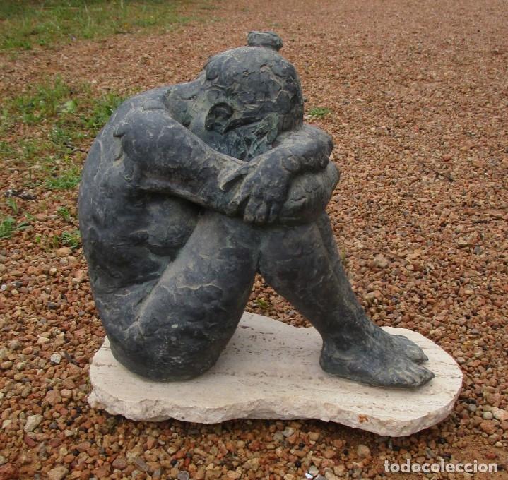 Arte: escultura piedra - Foto 5 - 160660122
