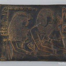Arte: RELIEVE EGIPCIO DE TERRACOTA VINTAGE. Lote 160759158