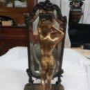 Arte: PINEDO, EMILE (1840-1916) FIGURA DE MUJER ENFRENTE DEL ESPEJO. Lote 160939394