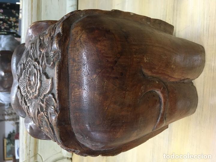 Arte: Gran Elefante tallado en madera - Foto 4 - 161355446