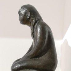 Arte: XOÁN PIÑEIRO NOGUEIRA (OURENSE 1920). FIGURA. BRONCE.. Lote 161481606