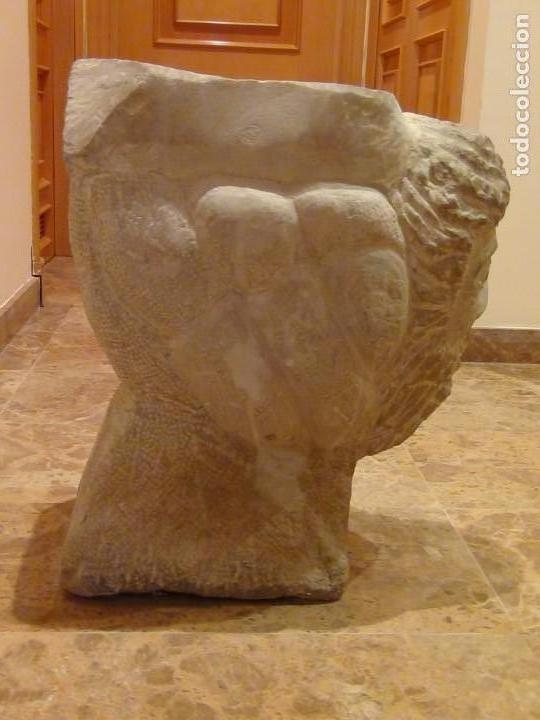 Arte: Bebedero de piedra con busto tallado...VER VIDEO!!! - Foto 8 - 161996786
