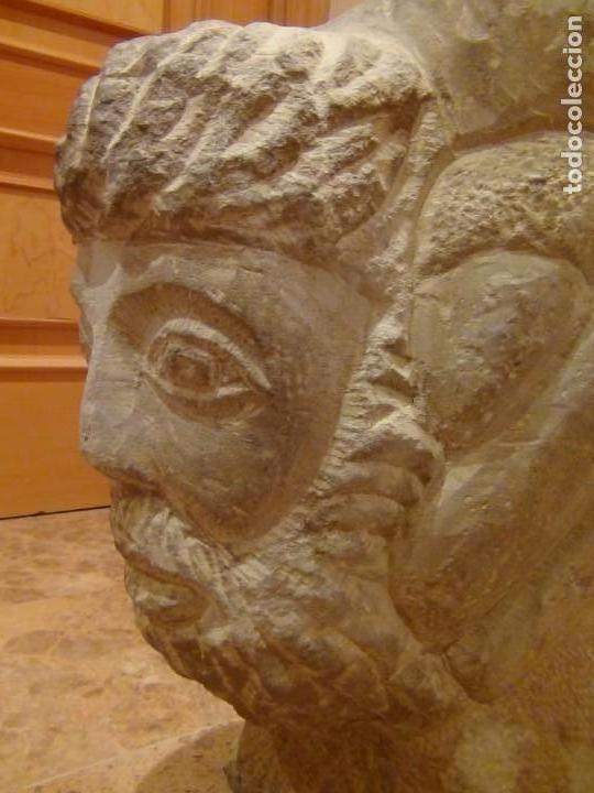 Arte: Bebedero de piedra con busto tallado...VER VIDEO!!! - Foto 17 - 161996786