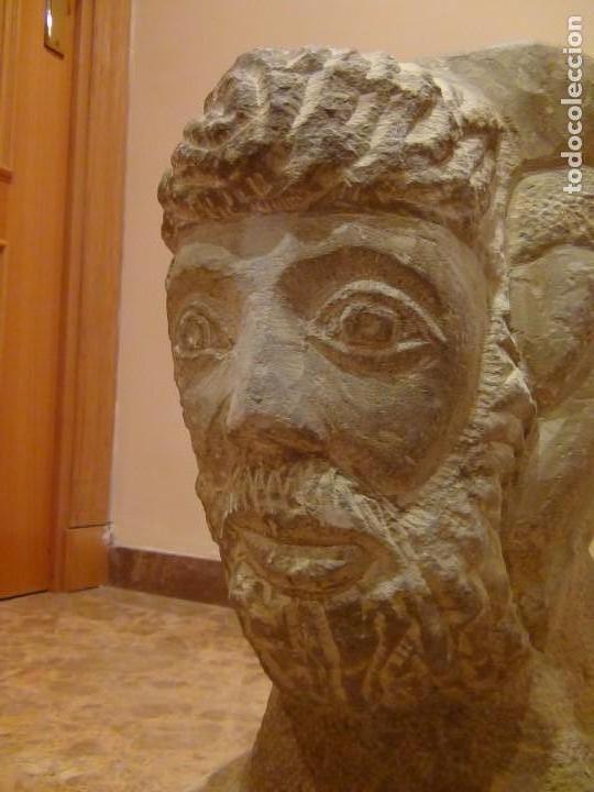 Arte: Bebedero de piedra con busto tallado...VER VIDEO!!! - Foto 18 - 161996786