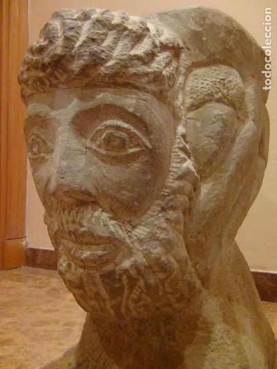 Arte: Bebedero de piedra con busto tallado...VER VIDEO!!! - Foto 19 - 161996786
