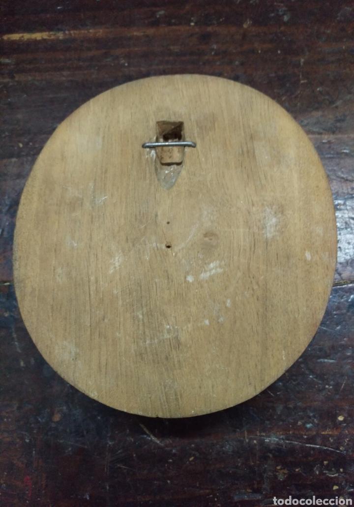 Arte: Antigua cara tallada en madera - Foto 4 - 162697910