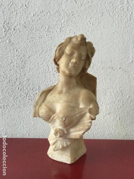 Arte: IMPORTANTE ESCULTURA DE ALABASTRO DE GUISEPPE GAMBOGI 1862-1938. - Foto 2 - 207683600