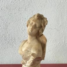 Arte: IMPORTANTE ESCULTURA DE ALABASTRO DE GUISEPPE GAMBOGI 1862-1938.. Lote 207683600