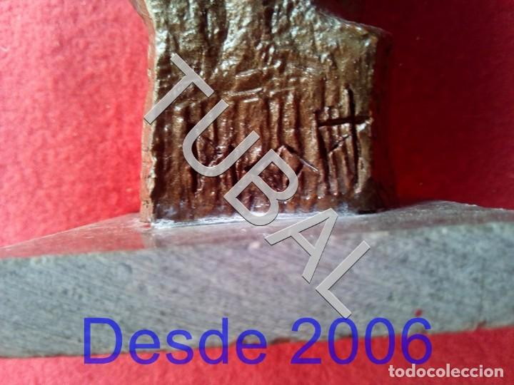 Arte: TUBAL PITXOT ESCULTURA FIRMADA RESINA? - Foto 7 - 164248518