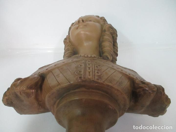 Arte: Preciosa Escultura - Busto de Dama, Condesa Francesa - Firma Charles Caron (Beauvais 1850) Francia - Foto 21 - 164471386