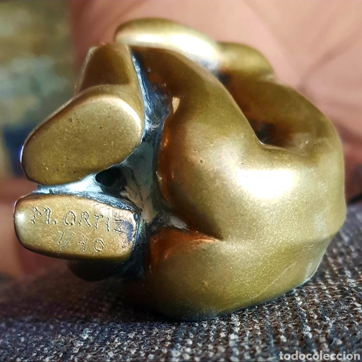Arte: M. Ortiz (Berrocal ?), preciosa escultura numerada y firmada. - Foto 2 - 142732194