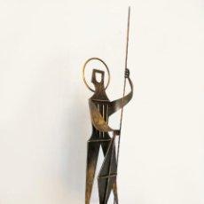 Arte: SANT JORDI POR LLUÍS TERRICABRES Y MOLERA TERRI (1929-2000) FIRMADA, AÑOS 50/60. Lote 165676814