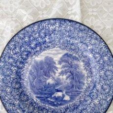 Arte: PLATO ANTIGUO, 1910-1913 PORCELANA INGLESA, FENTON. Lote 165745614
