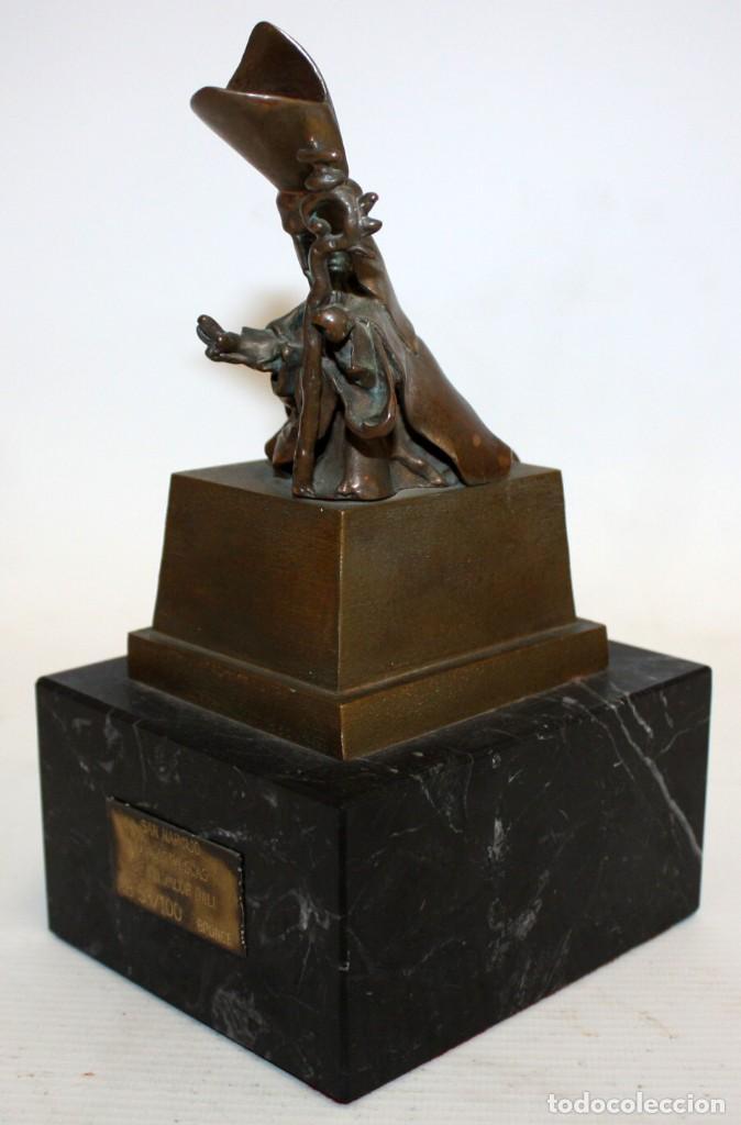 Arte: SALVADOR DALÍ DOMÈNECH (1904-1989) -San Narciso de las moscas- ESCULTURA EN BRONCE NUMERADA AB53/100 - Foto 5 - 166786146