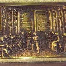 Arte: TRIBUNAL DE LAS AGUAS VALENCIA ESCULTURA BAJORELIEVE EN BRONCE CATEDRAL VALENCIA. Lote 167504393